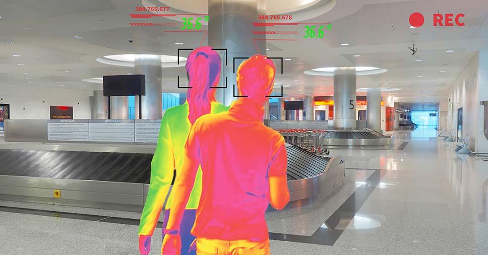 Pandemia: qual a importância das câmeras termográficas em aeroportos?